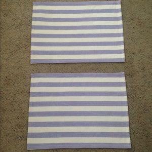Vintage Striped Placemat Set